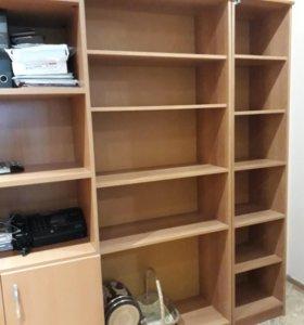 Мебель  из 4х предметов. ШКАФ/ СТЕЛЛАЖ .