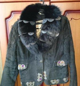 Натуральная замшевая куртка