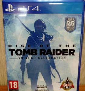 PS4 RISE OF THE TOMB RAIDER RUS