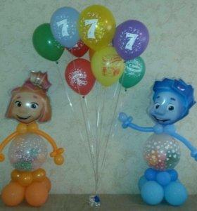Воздушные шары в Лобне