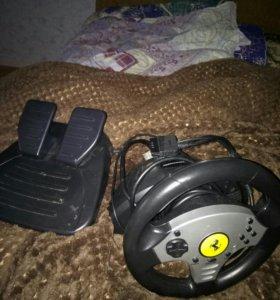 Игровой руль thrustmaster