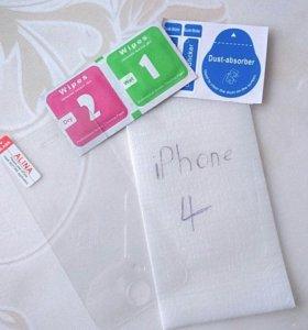 Стекло iPhone 4