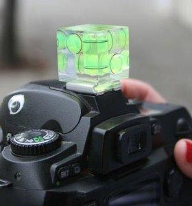 Пузырьковый уровень для фотоаппарата