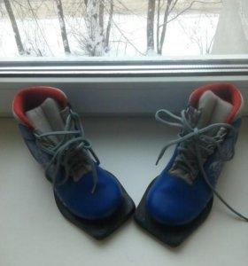 Ботинки лыжные детские р. 30