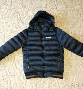 Мужская куртка. Зима