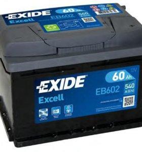 Батарея аккумуляторная EXIDE EB602