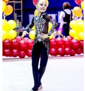 Купальник для художественной гимнастики комбинезон