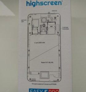 Смартфон Highscreen easy s pro