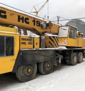 Аренда ( услуги) автокран  като г. п. 70 тон