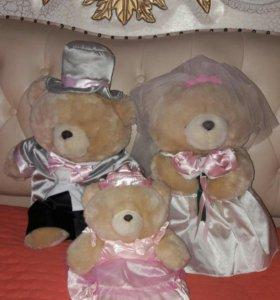 """Жених и невеста мишки,"""" Forever friends, Hallmark"""""""