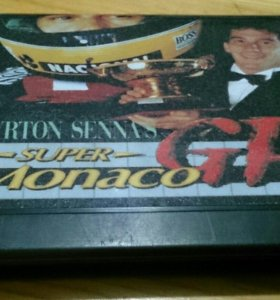 Sega megadrive Monaco GP 2