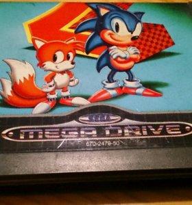 Sega megadrive Sonic the hedgehog 2