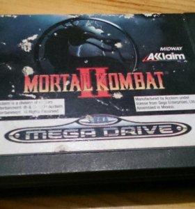 Sega megadrive Mortal Kombat 2