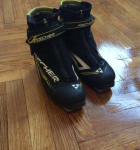 Лыжные ботинки fisher, combi