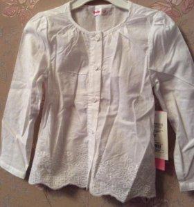 Новая рубашка на девочку 2-4 года