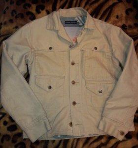 Куртка Ralph Lauren из бежевой джинсы