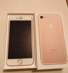 Айфон 7 (32 gb)роз голд