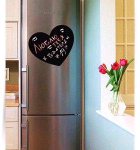 Меловая доска на холодильник