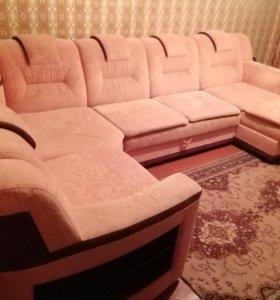 4-модульный диван