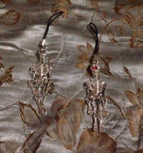 Брелки скелет