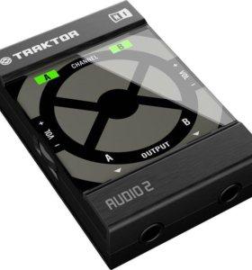 Traktor Audio 2 (новая, не юзанная!)