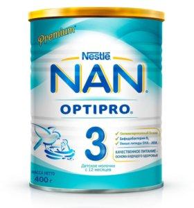 Смесь NAN 3, 400 грамм