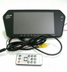 Мультимедийное зеркало монитор 7'' USB