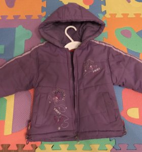 Куртка девочке на 2года