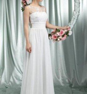 Шифоновое платье Ариста