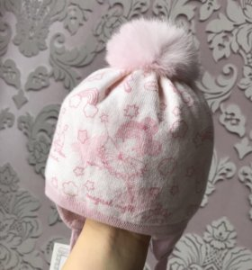 Новая Детская шапка р 42-44 для девочки Barbaras