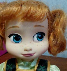 Кукла Анна(мультик холодное сердце)