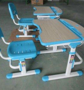 Детская парта и стул для хорошей осанки