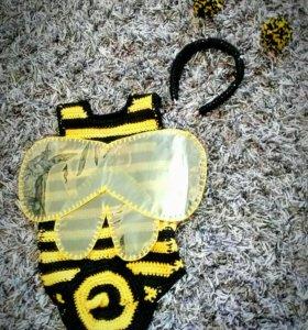 Новогодний костюм пчёлки на рост 62-68 см