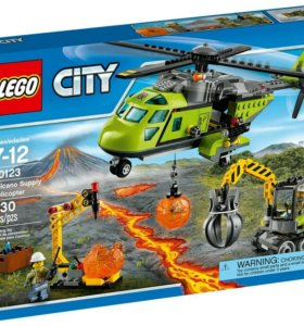 Лего. Город. Грузовой вертолет... 60123