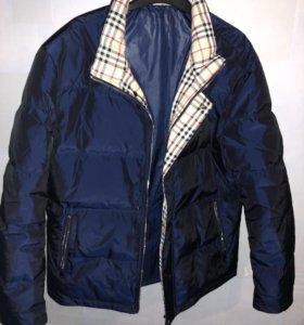 Пуховик зимний мужской куртка