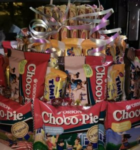 Торты из конфет на заказ.