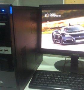 Фирменный 2-х ядерный компьютер HP