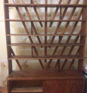 Кухонный шкаф для дачного участка в дом