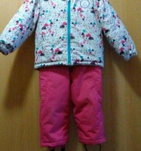 Горнолыжный костюм на девочку 3-4 года