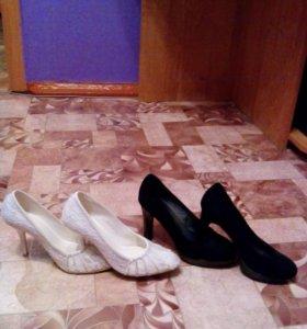 Туфли 2  шт