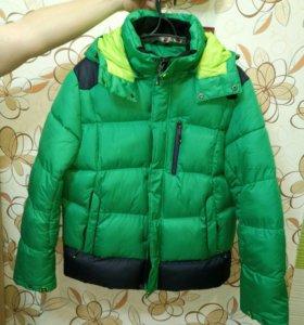 Мужская зимняя куртка р.52-54