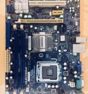 Материнская Плата Foxconn + Pentium E2200 + Nvidia