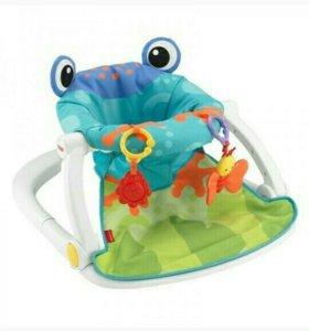 Fisher-Price Детское кресло-сиденье Лягушонок
