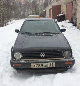Volkswagen Golf 2 1988г. 1,6, 72лс