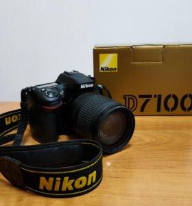Nikon D7100 в комплекте c китовым Nikon 18-105mm