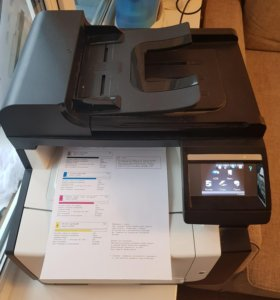 Мфу HP LaserJet Color CM1415fn MFP