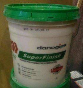 SuperFinish. Полимерная финишная шпатлёвка.17л.