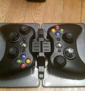 Xbox 360 slim 500гб+кинект+2 джойстика и 10 игр