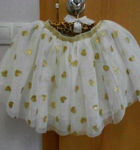 Нарядная пышная юбка