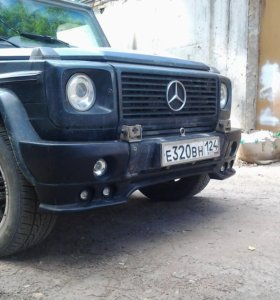 Накладка на бампер Mercedes-Benz G, Brabus